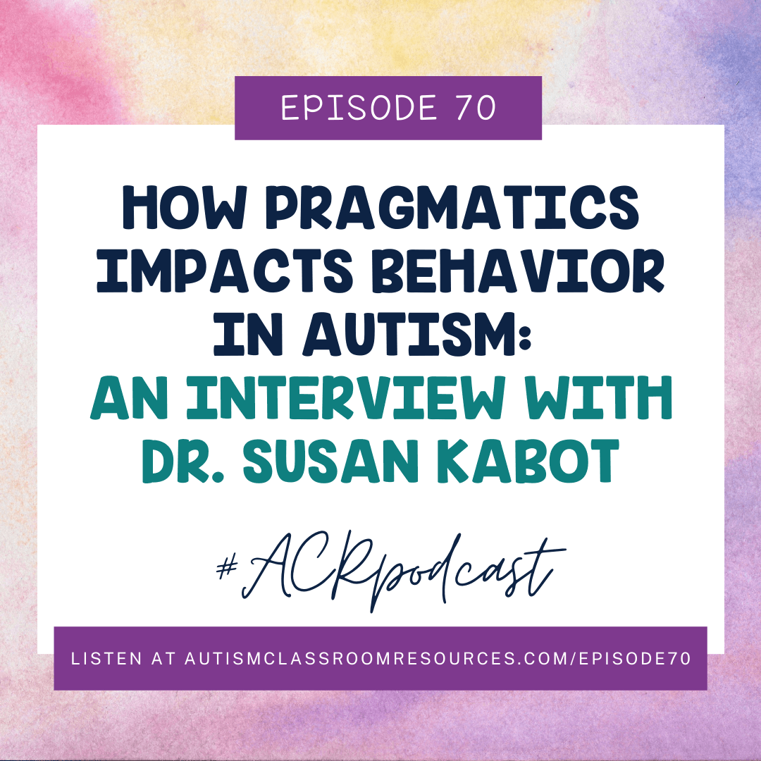 The Impact of Pragmatics o Behavior with Dr. Susan Kabot with a free download