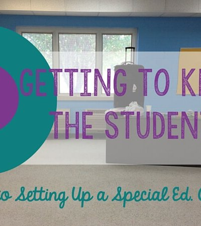 Getting to know your students is the most critical step in setting up a special education classroom. The teaching plan example and reasons why are in this post.