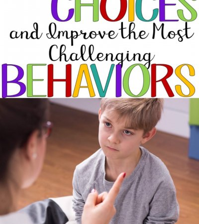 "As a preschool teacher recently said to me...""So I realized, for this kid, it's all about choices."" This particular kid (and many others) liked to be in control of EVERYTHING! And he did it by refusing the teacher's directions. He would tell you what he would do (other than what you told him to), and he would tell other people (kids and adults) what to do. We also found that we were always getting into power struggles with him. He could suck you into a power struggle faster than my money disappears at the Target Dollar Spot!"