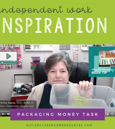 Independent work Inspiration: Money Packaging Task