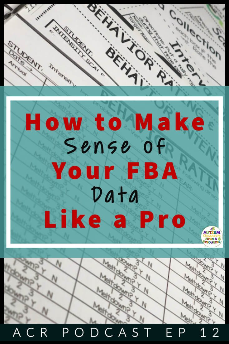 How to make sense of your FBA data like a pro [background picture of data sheets]