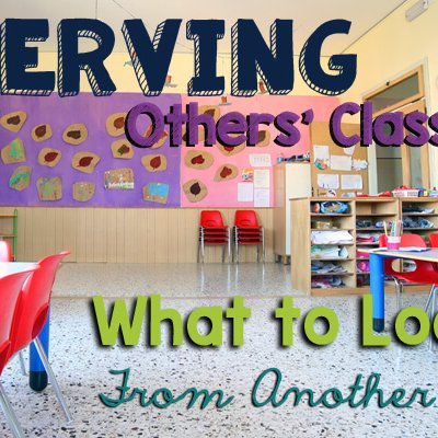 Observing Others Classrooms What to Look For From Another Teacher