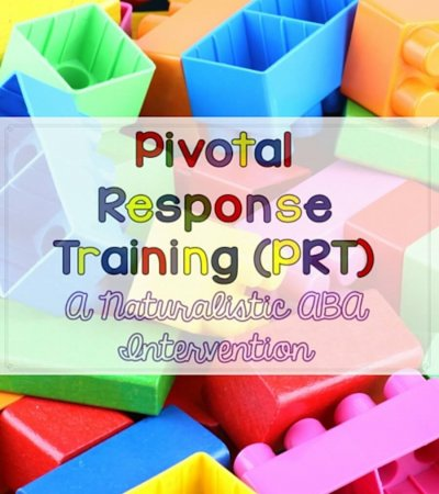 Pivotal Response Training PRT From Autism Classrom Resources