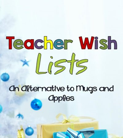 Teacher Wish Lists An Alternative to Mugs and Trinkets; Ways to show appreciation for teachers while helping them be effective in their classroom. Autism Classroom Resources