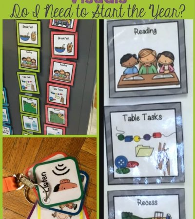What classroom visuals do I need to start the year in a special education classroom? Tons of examples and essentials.