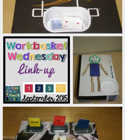 Workbasket Wednesday September 2015 Autism Classroom Resources