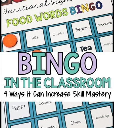 BINGO in the Classroom: 4 Ways to Increase Skills