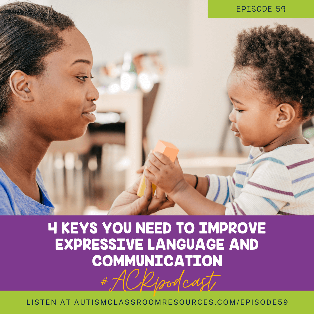 4 keys you need to improve expressive language and communication