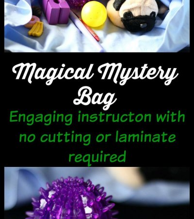 Magical Mystery Bag for Increasing Engagement in Instruction