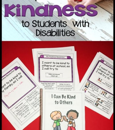 Everyone needs a little kindness at any time of the year. This kindness freebie is designed to help teach your students in special education about being kind to those around them.